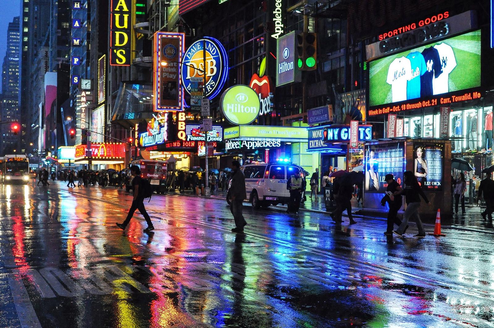 Nuit à Times Square New York, New York aux EtatsUnis -> Amérique Ville Nuit