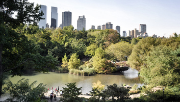 Manhattan depuis central park