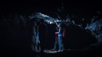 Un monde etrange sous la lave