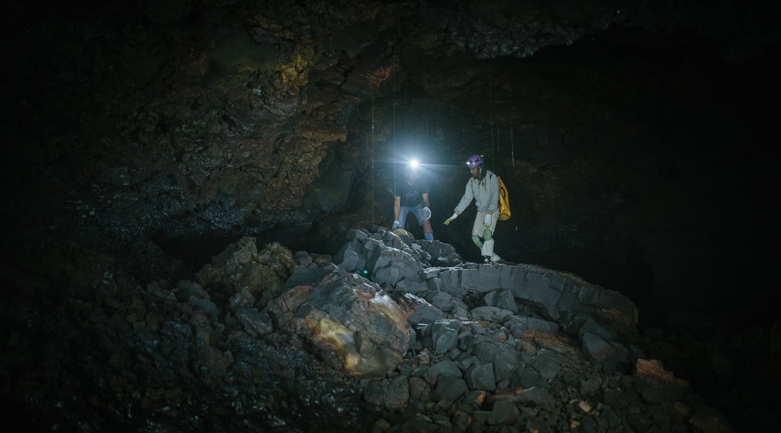 Les explorateurs du tunnel Saint Philippe