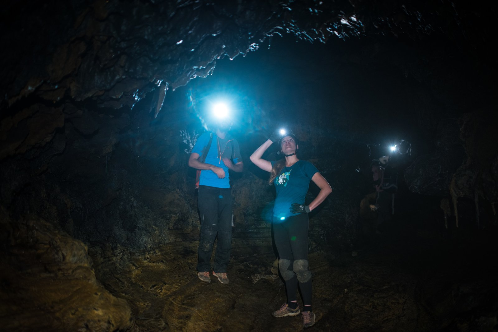 Le tunnel bleu, Ile de la Réunion Saint Philippe