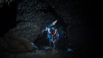 Exploration du tunnel bleu la reunion