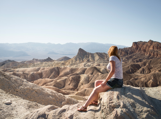 Paysages de Death Valley