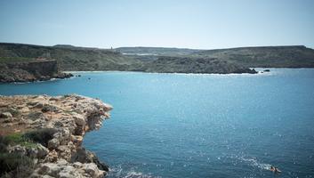 La baie de ghajn tuffieha