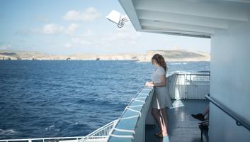 Ferry en direction de gozo