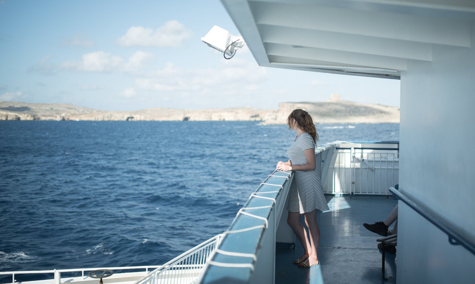 Ferry en direction de Gozo Mgarr