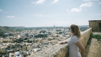 Vue sur la ville de rabba