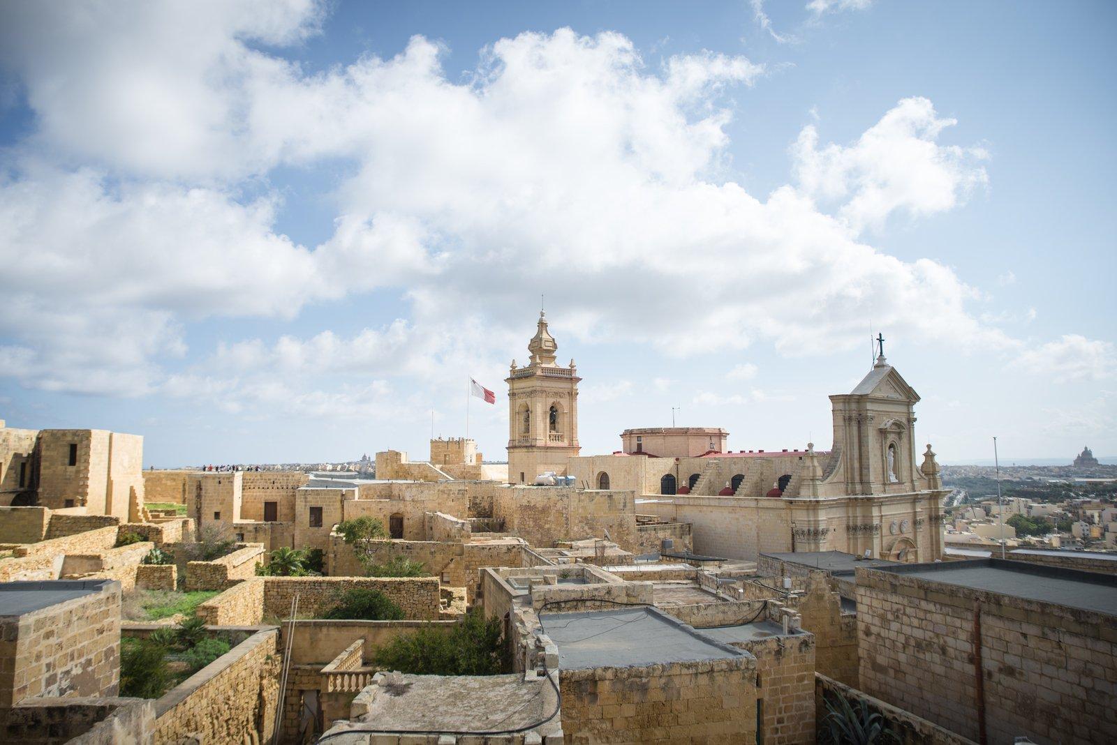La vieille ville de Victoria, à Gozo Victoria