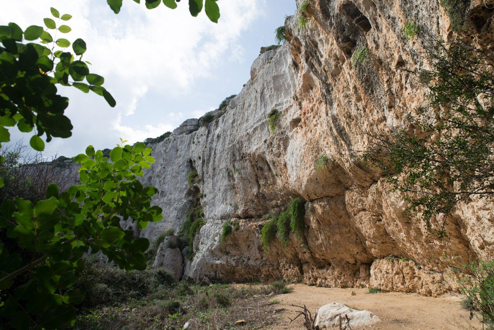 Falaise, île de Gozo, Malte Mġarr ix-Xini
