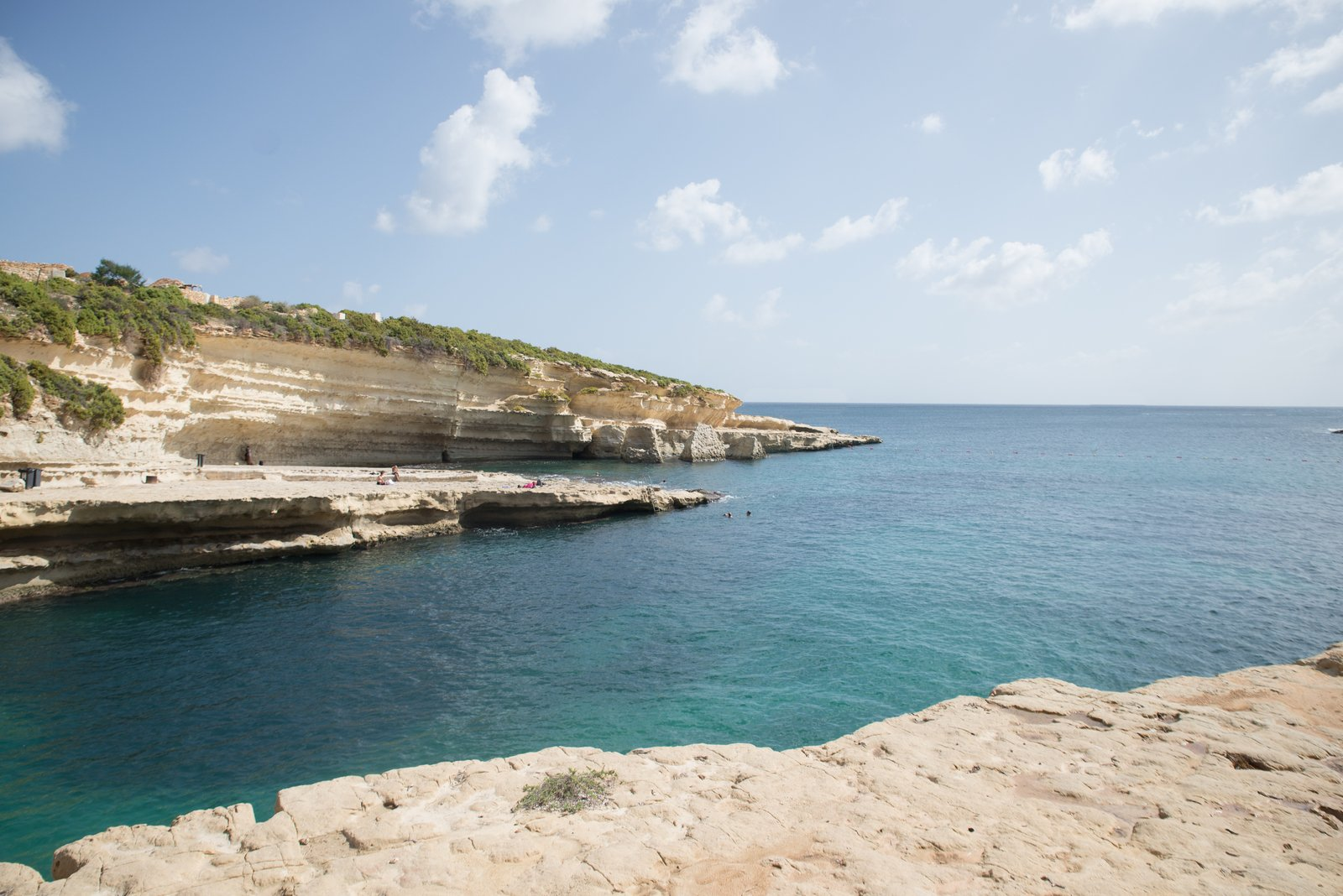 Se baigner à Malte Mellieħa