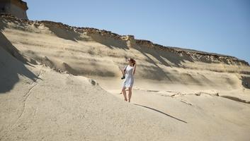Etonnants paysages des salines de qbajjar