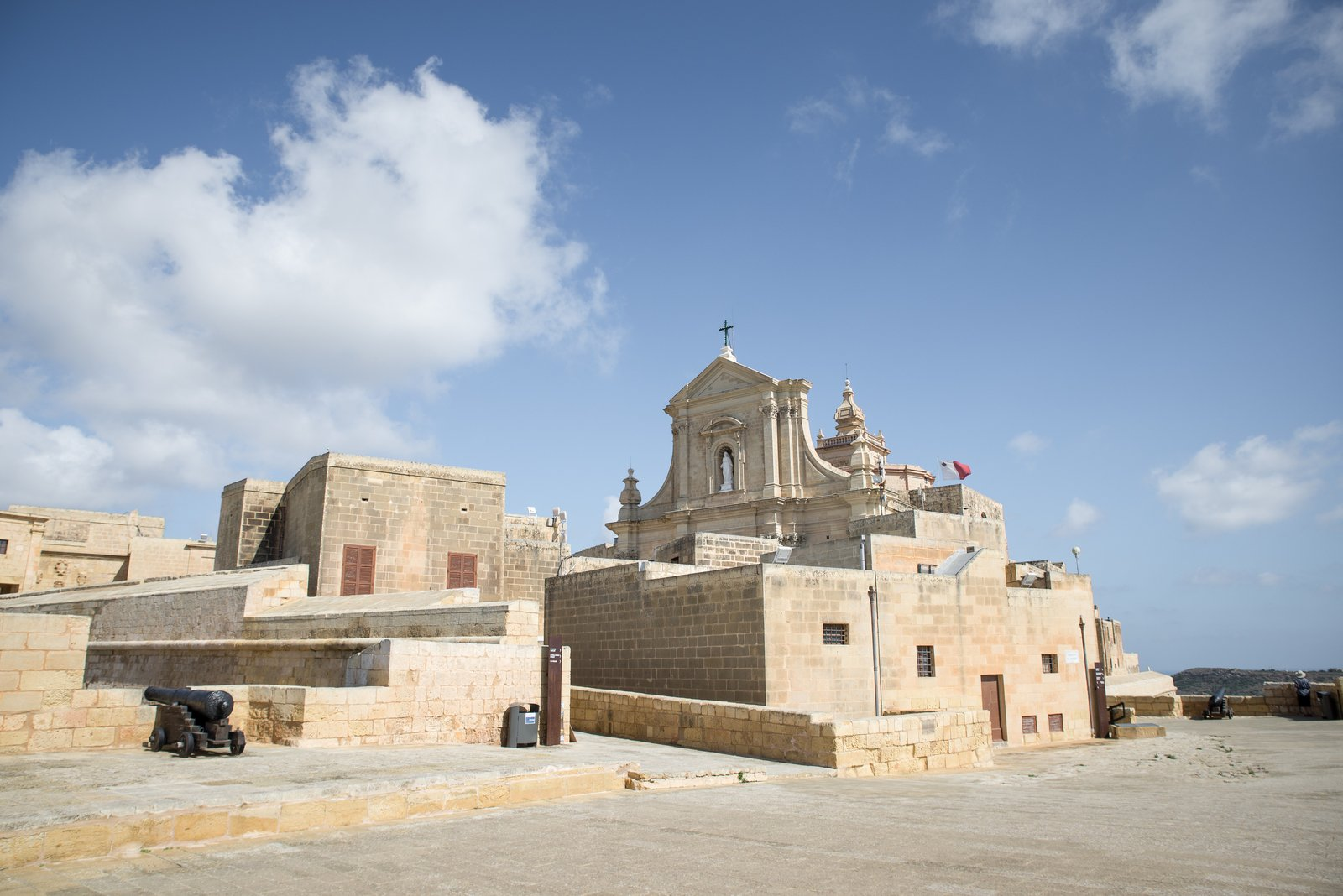 En haut de Victoria, Gozo Victoria