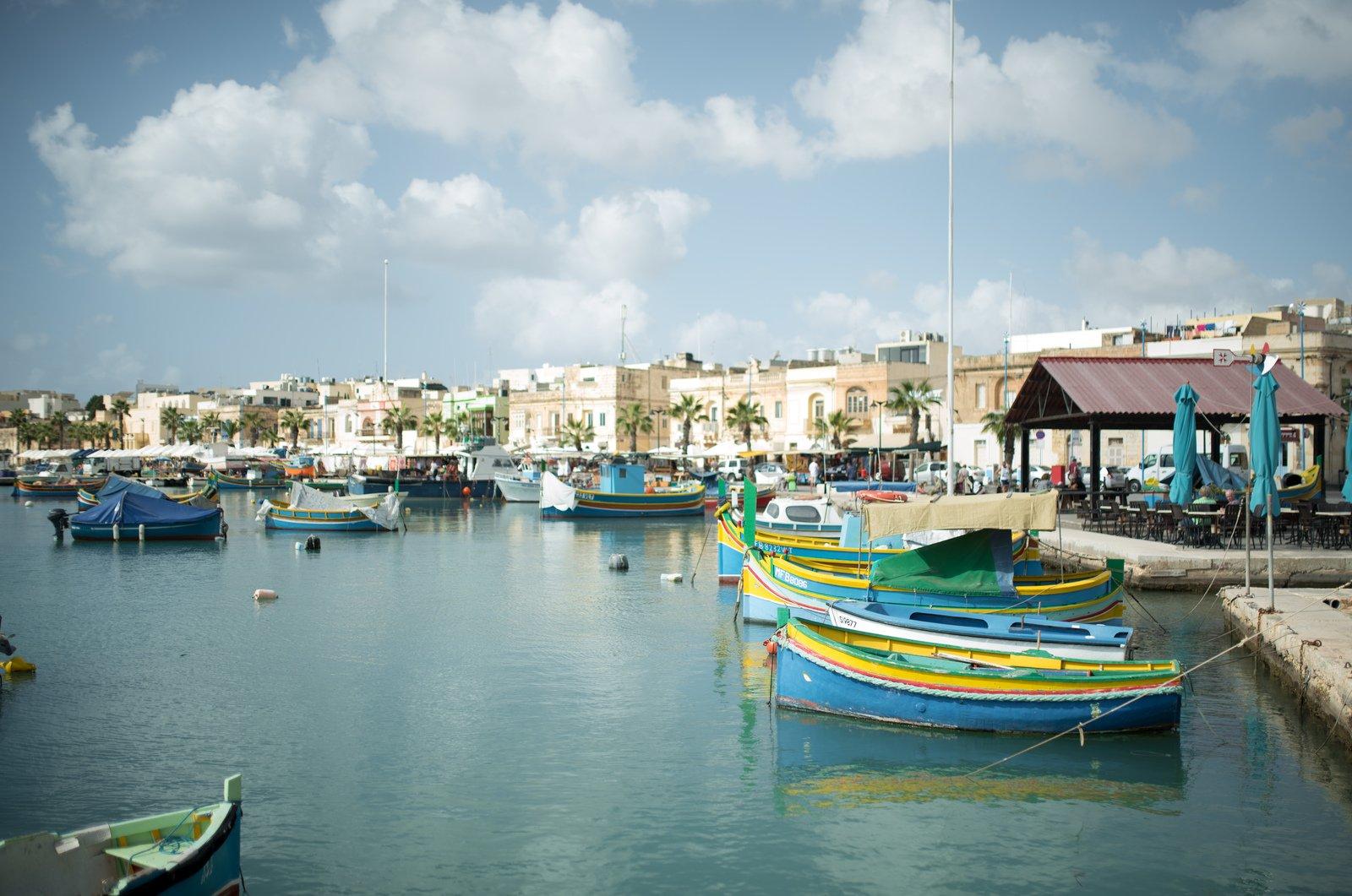 Petit port de Marsaxlokk Marsaxlokk