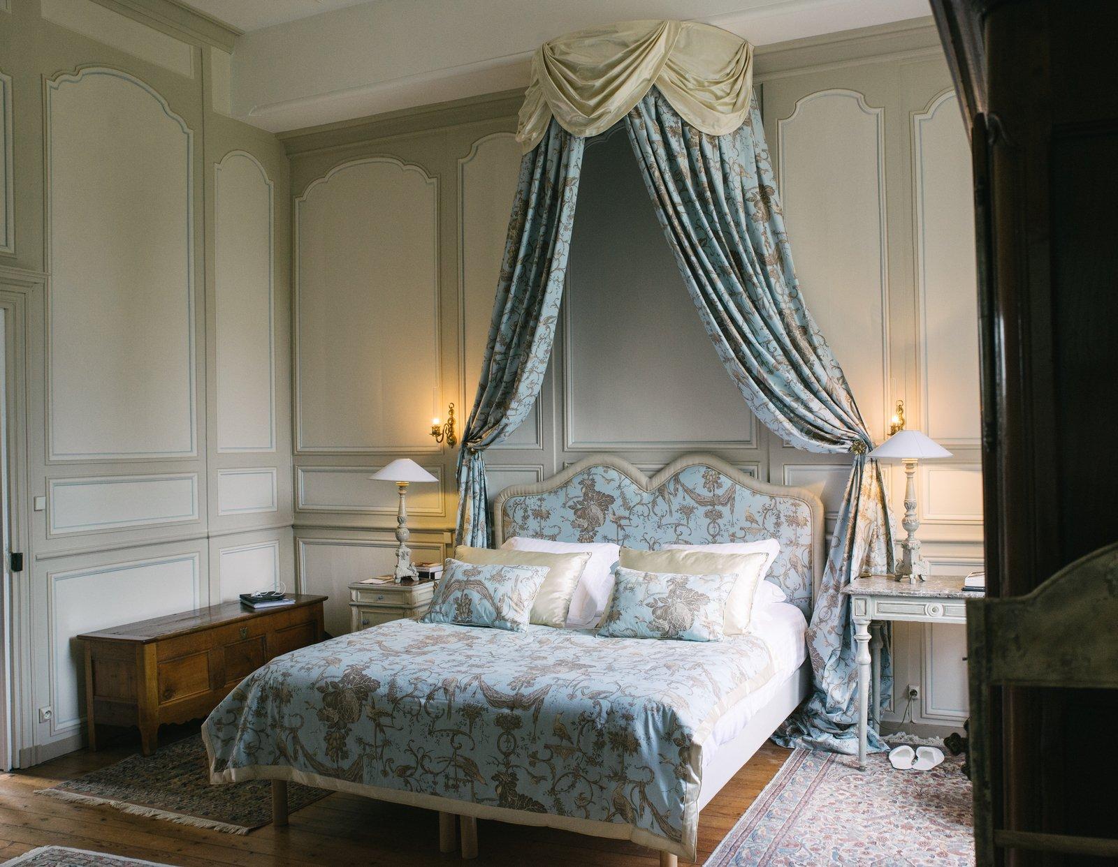 Chambre du château de la Ballue Bazouges-la-Pérouse