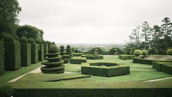 Les jardins geometriques de la ballue