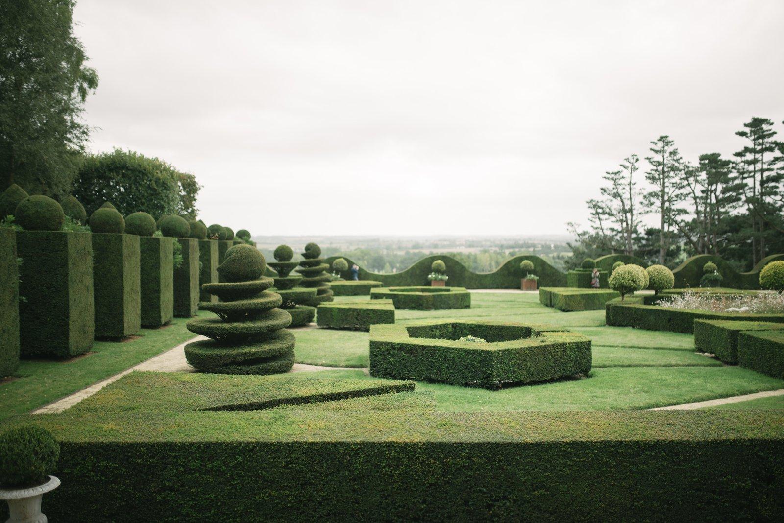 Les jardins géométriques de la Ballue Bazouges-la-Pérouse
