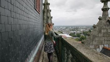 Au sommet du chateau