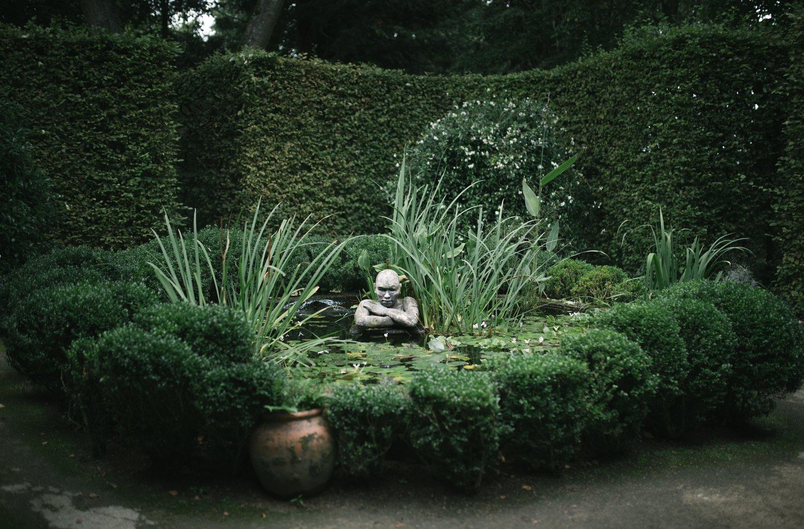 Dans les étranges jardins de la Ballue Bazouges-la-Pérouse