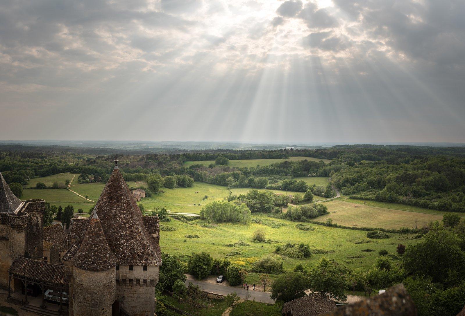Paysage De La Dordogne