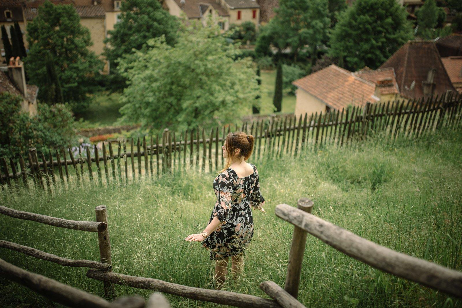 Petit village du Périgord Bourdeilles