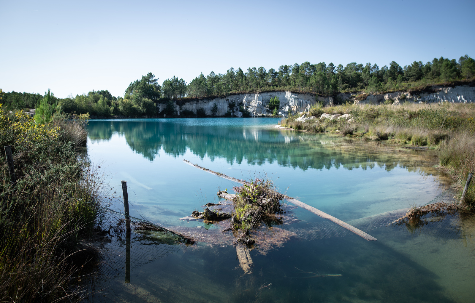 Second lac de Guizangeard Guizangeard