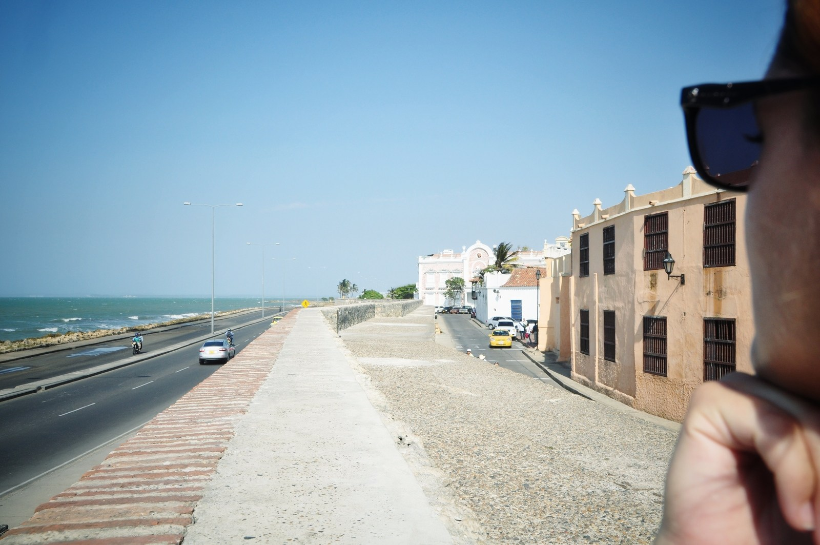 Muraille de Carthagène des Indes Carthagène
