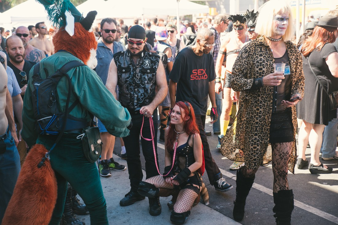 Sourires, Folsom Street Fair