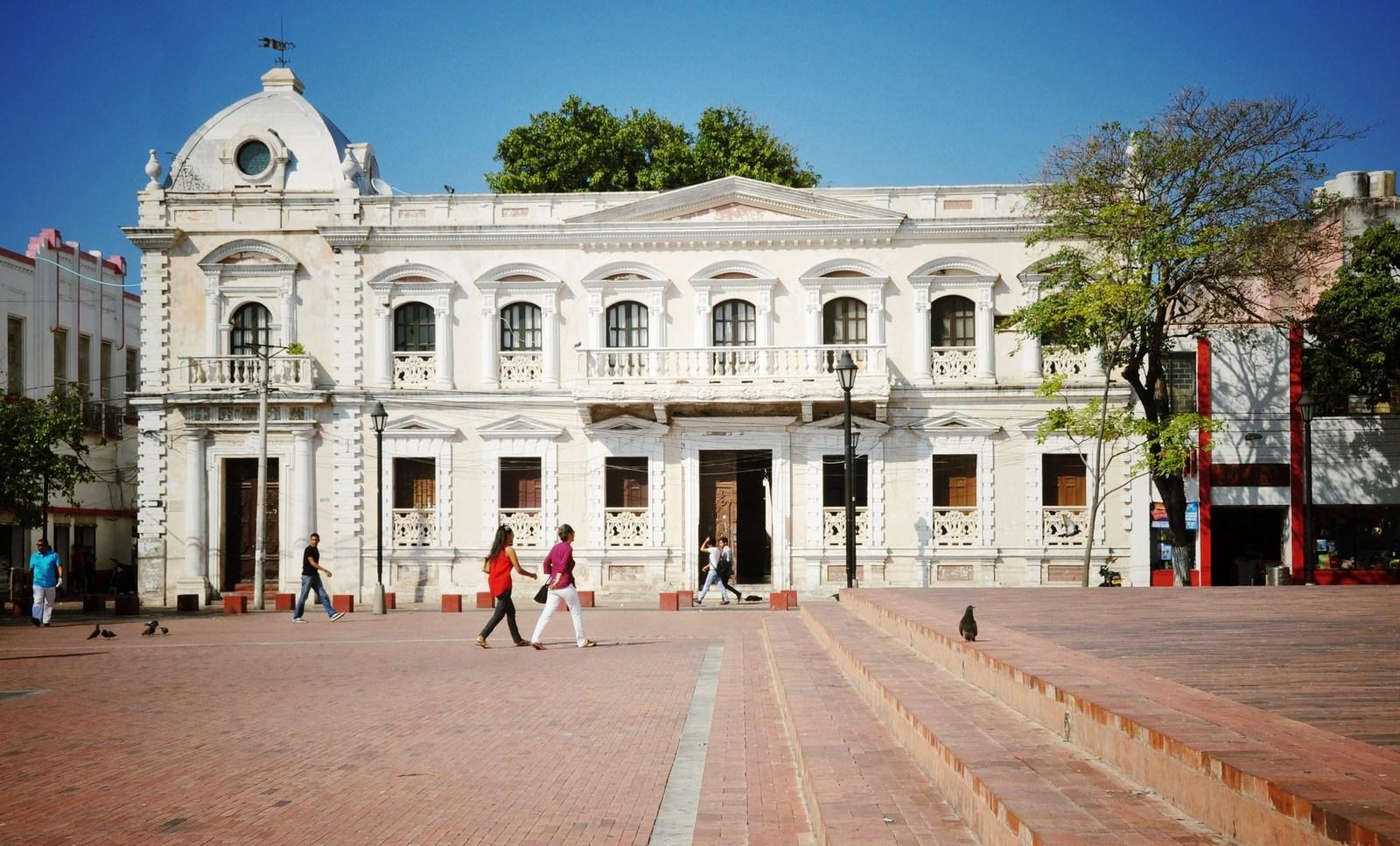Parque Central, Santa Marta, Colombie Santa Marta