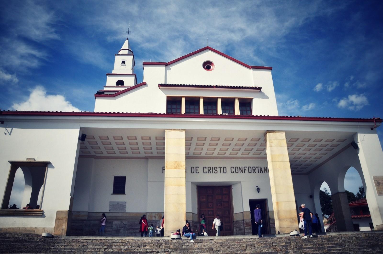 L'église de Monserrate Cerro de Monserrate