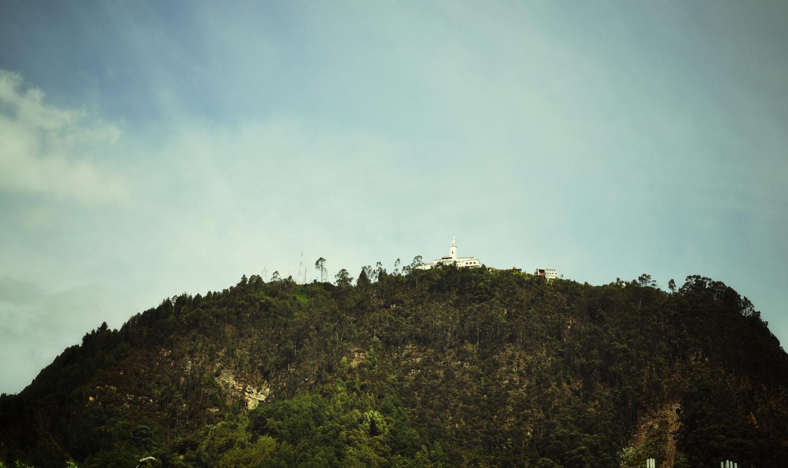 Vue sur le Monserrate Cerro de Monserrate