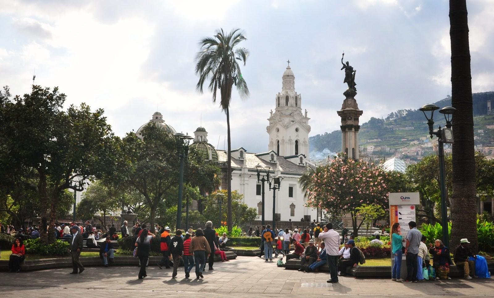 Parque central de Quito Quito
