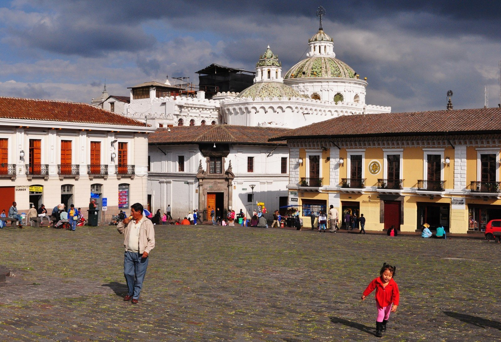 Place san francisco à Quito Quito