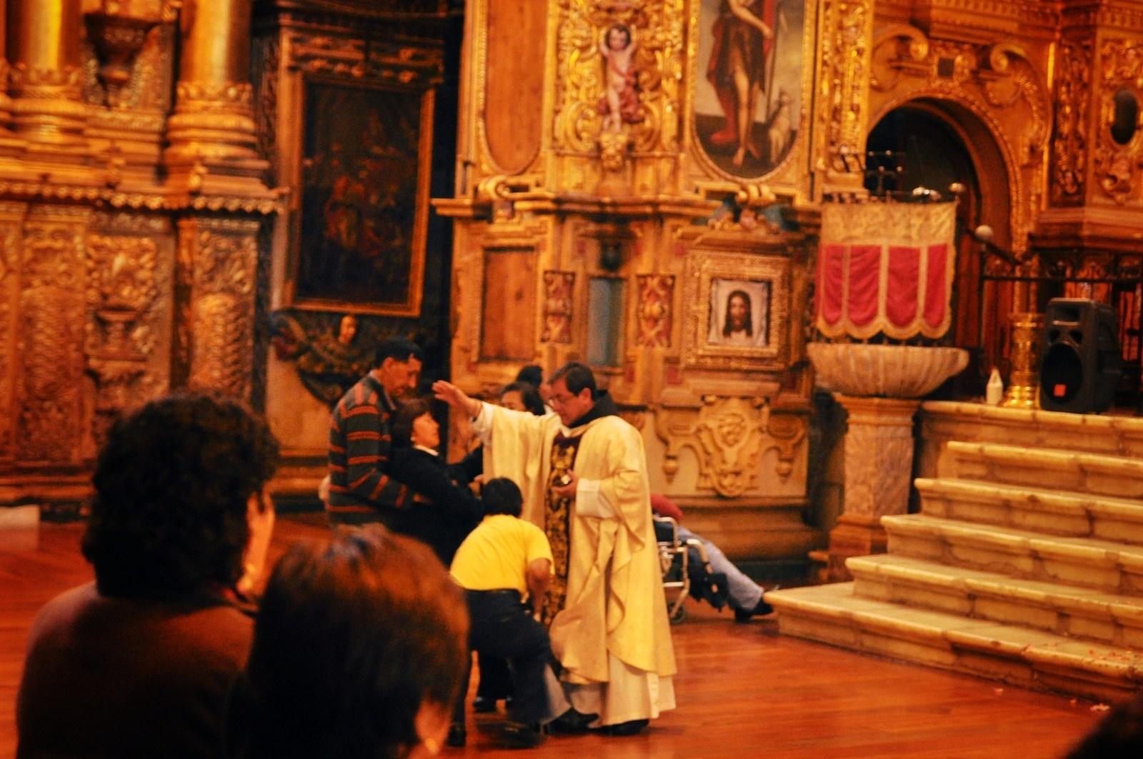 Messe à Quito, Equateur Quito